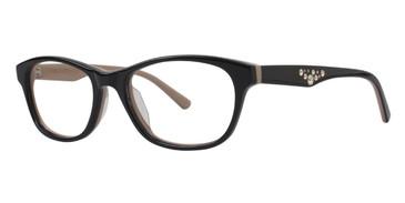 Black Vera Wang Laene Eyeglasses.