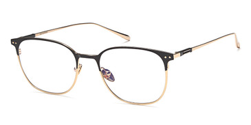 Black/Gold Capri MF90001 Eyeglasses.