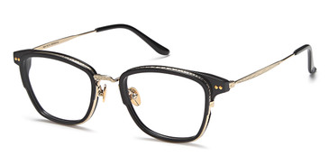 Black/Gold Capri AGO PF80005 Eyeglasses.