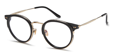 Black/Gold Capri AGO PF80007 Eyeglasses.