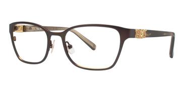 Horn Vera Wang Lilou Eyeglasses.