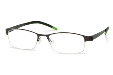 Dark Gunmetal Free-Form FFA906 Eyeglasses.