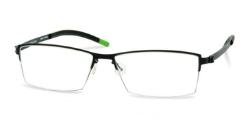 Black Free-Form FFA908 Eyeglasses.