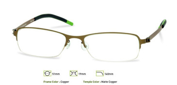 Free-Form FFA909 Copper Eyeglasses