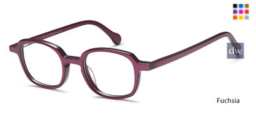 Fuchsia Capri M4054 Eyeglasses