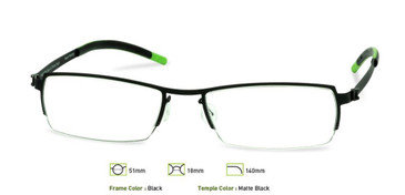 Black, Free-Form FFA910 Eyeglasses