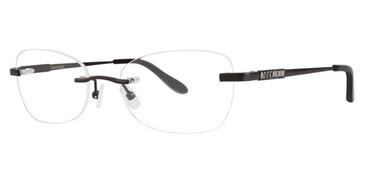 Black Vera Wang Rhea Eyeglasses.