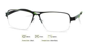 Black, Free-Form FFA912 Eyeglasses