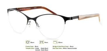 Black, Free-Form FFA913 Eyeglasses