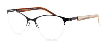 Black Free-Form FFA913 Eyeglasses