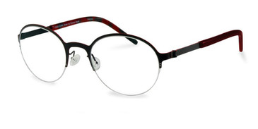 Black Free-Form FFA915 Eyeglasses.