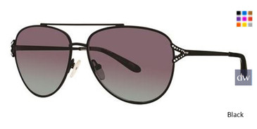 Black Vera Wang Briar Sunglasses.