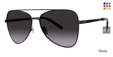 Ebony Vera Wang Brigid Sunglasses.