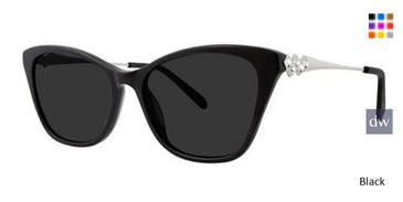 Black Vera Wang Caydee Sunglasses.