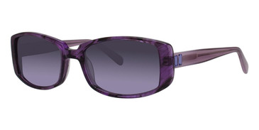 Amethyst Crystal Vera Wang Cicilia Sunglasses.