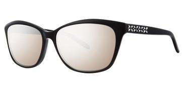 Black Vera Wang Dasnee Sunglasses.