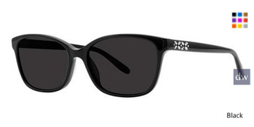 Black Vera Wang Deedee Sunglasses.