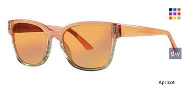 Apricot Vera Wang Farah Sunglasses.