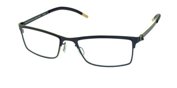 Matte Dark Gunmetal Free-Form FFA923 Eyeglasses