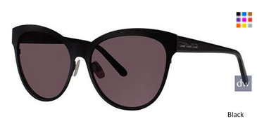 Black Vera Wang Kalea Sunglasses.