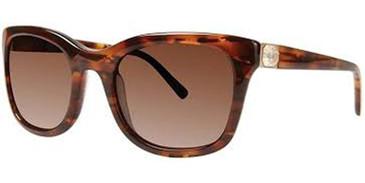 Tortoise Vera Wang Liora Sunglasses.