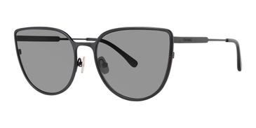 Black Vera Wang Livia II Sunglasses.
