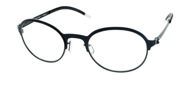 Matte Black Free-Form FFA925 Eyeglasses
