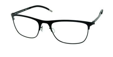 Matte Black Free-Form FFA926 Eyeglasses