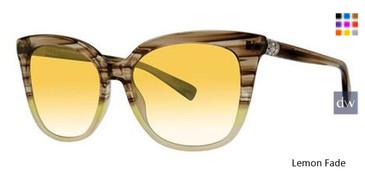 Lemon Fade Vera Wang Tatiana Sunglasses.