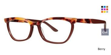 Berry Vera Wang V522 Eyeglasses.