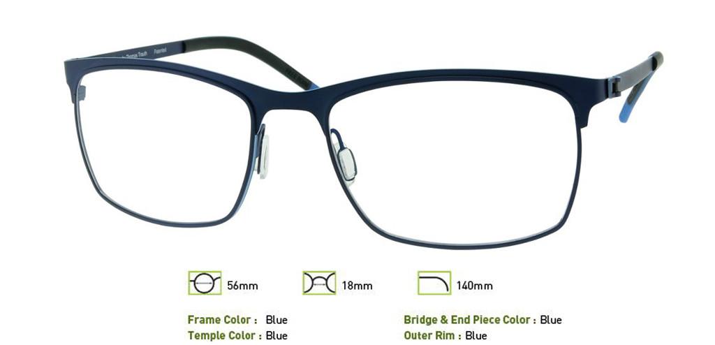 Blue Free-Form FFA945 Eyeglasses