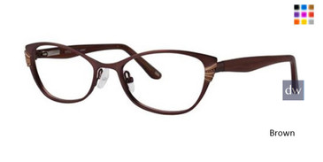 Brown Style By Timex Junket Eyeglasses