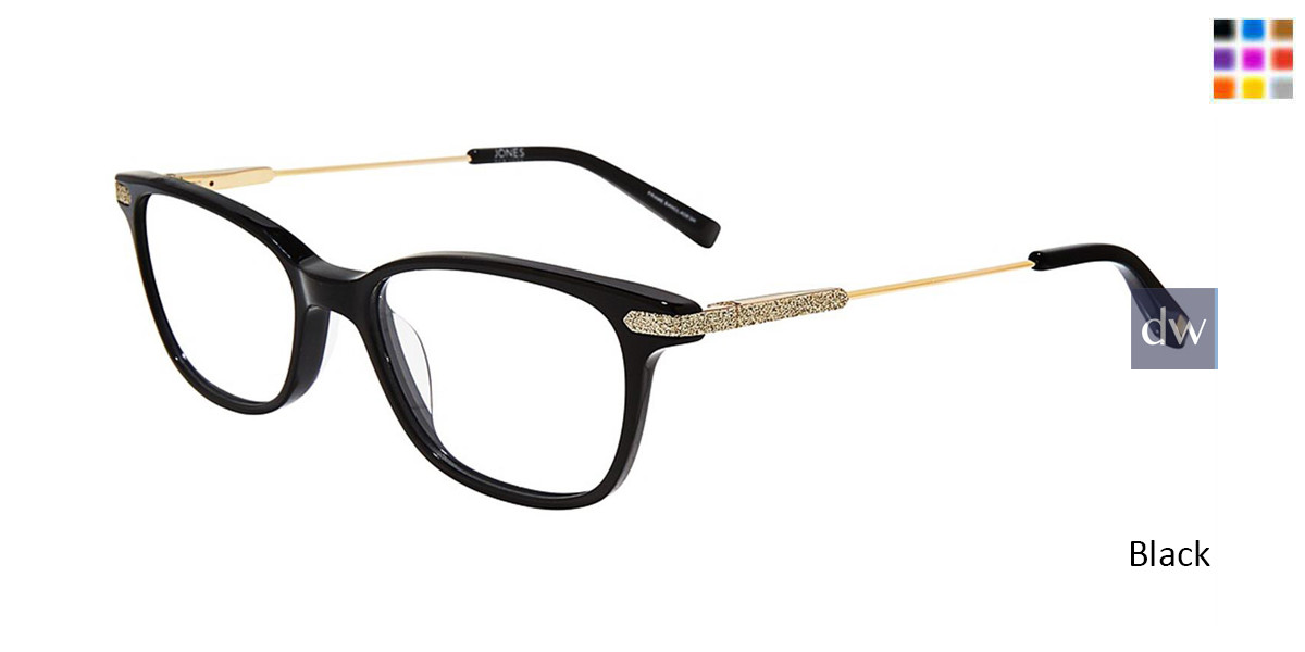 Black Jones New York J242 Eyeglasses - Teenager.
