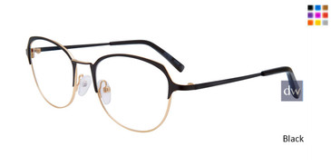 Black Jones New York Petite J150 Eyeglasses.