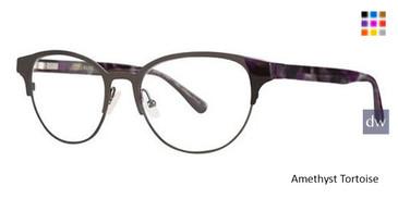 Amethyst Tortoise Vera Wang V395 Eyeglasses.