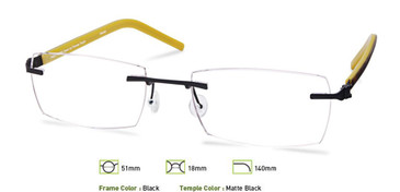 Black, Free-Form FFA960 Eyeglasses