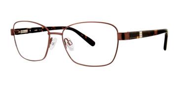 Brown Destiny Darcie Eyeglasses.