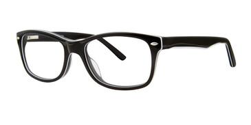Black Destiny Delray Eyeglasses.
