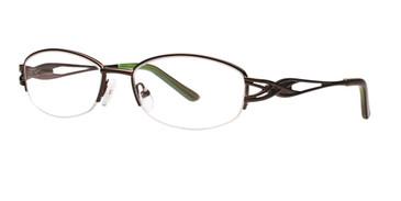 Brown Destiny Lexine Eyeglasses