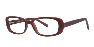 Brown Destiny Roz Eyeglasses.