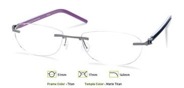 Titan, Free-Form FFA962 Eyeglasses