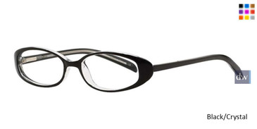 Black Crystal Destiny Sharon Eyeglasses