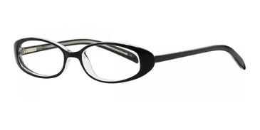 Black/Crystal Destiny Sharon Eyeglasses - Teenager.