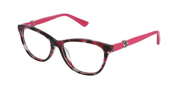 Berry Tortoise Nicole Miller Arden Eyeglasses.