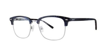 Navy Horn Zac Posen Henley Eyeglasses.