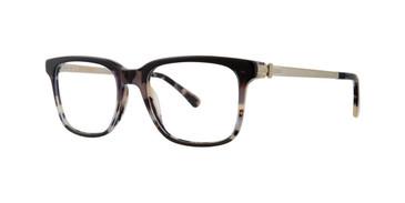 Charcoal Tortoise Zac Posen Deniro Eyeglasses.