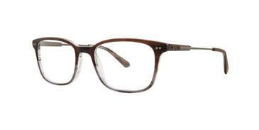 Desert Suede Zac Posen Grant Eyeglasses.