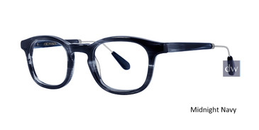 Midnight Navy Zac Posen Huxley Eyeglasses.