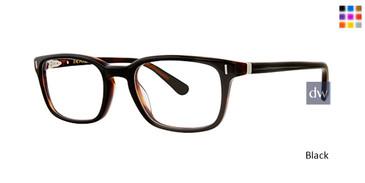 Black Zac Posen Chambers Eyeglasses.