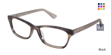 Black Nicole Miller Carroll Eyeglasses.